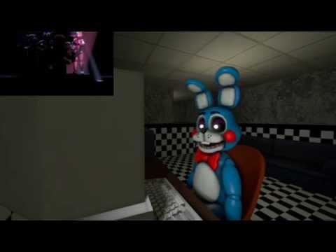 [SFM FNAF] FNAF Sister Location Trailer: Toy Bonnie's Reaction