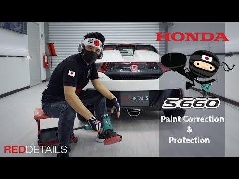 """ Honda S660 Sticky Soft Paint Detailing "" Paint Correction & Protection from YouTube · Duration:  23 minutes 48 seconds"