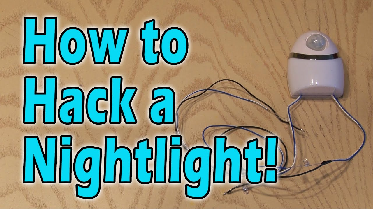 How To Hack A Nightlight Youtube Photocell Based Night Light By Ua741