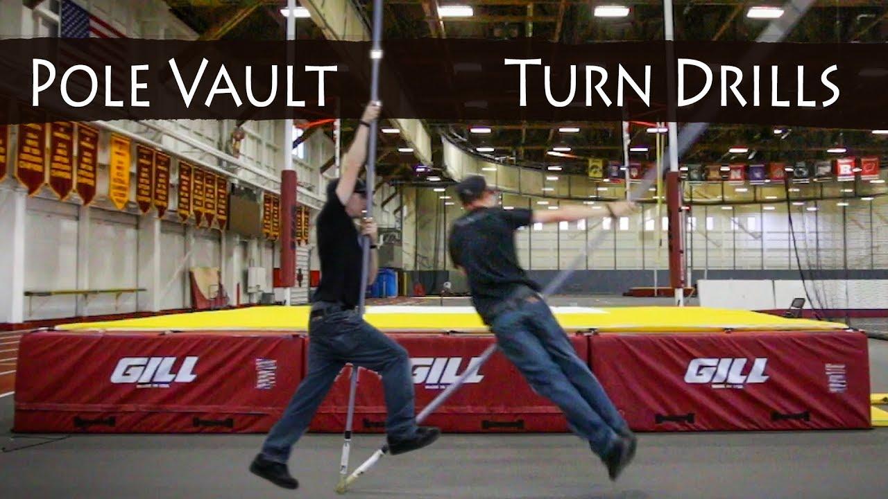 How to turn | Pole Vault Drills | Team Hoot Pole Vault ...