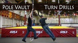 How to turn | Pole Vault Drills | Team Hoot Pole Vault