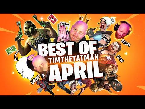 TIMTHETATMAN APRIL FUNNIEST/BEST MOMENTS!