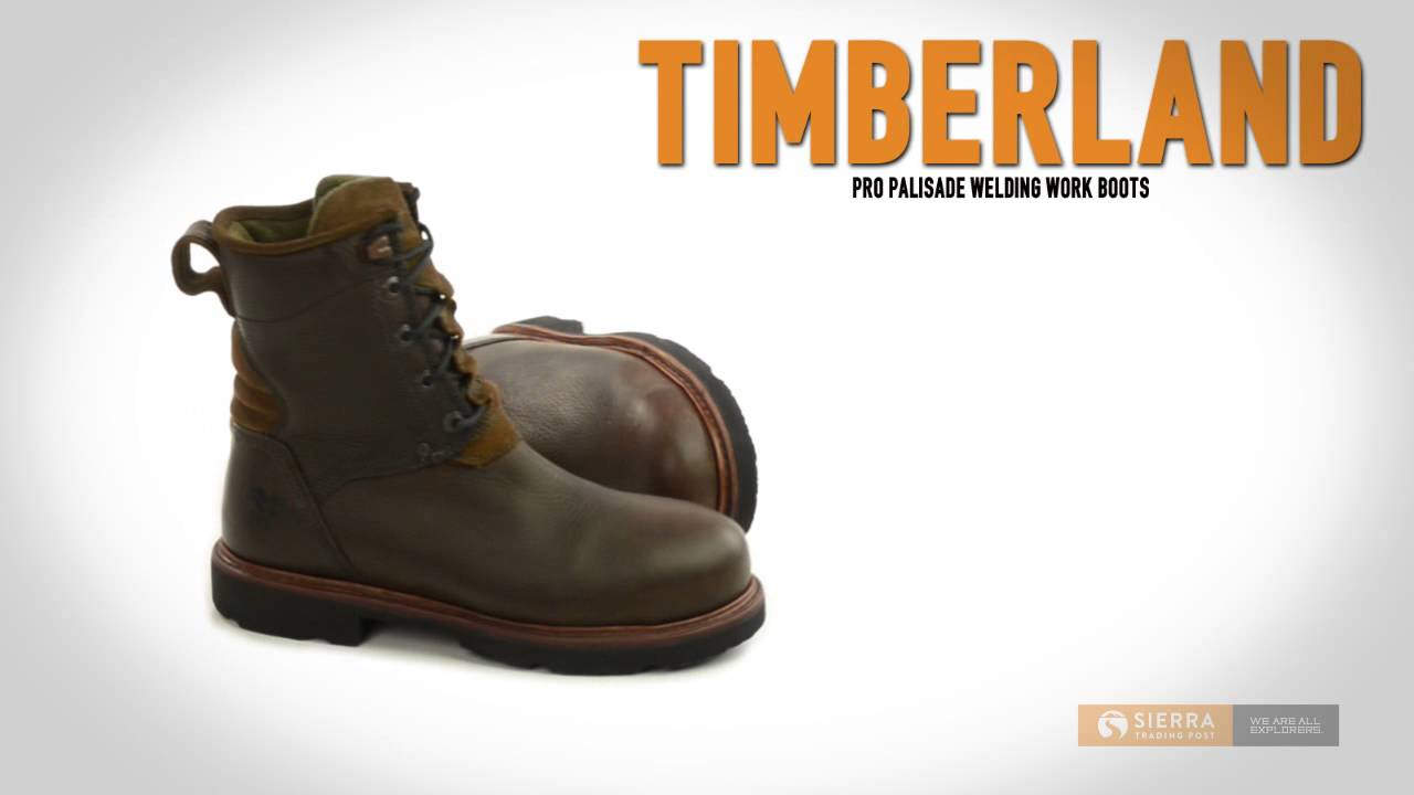 ac13cb968e8 Timberland Pro Palisade Welding Work Boots - Steel Toe (For Men)