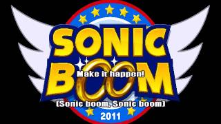Sonic boom -karaoke