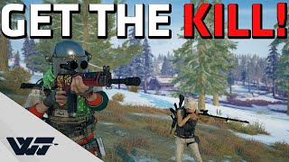 GET THE KILL! - I met this awesome guy in random queue - PUBG