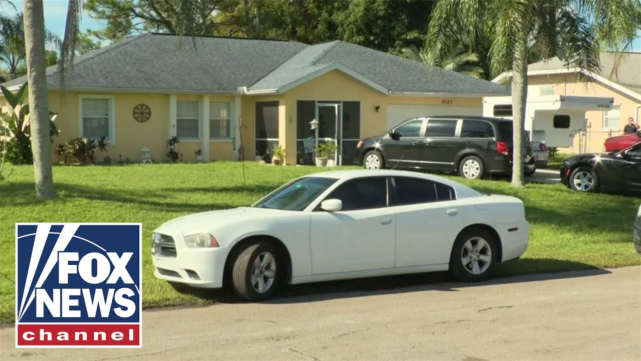 Download Live view of Laundrie family home after FBI arrives on property