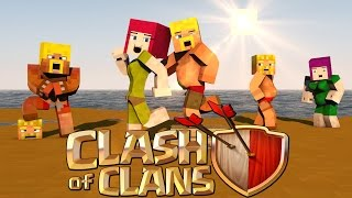 "Minecraft | Clash of Clans Nations - Ep 7! ""ISLAND READY FOR GIRLFRIENDS"""