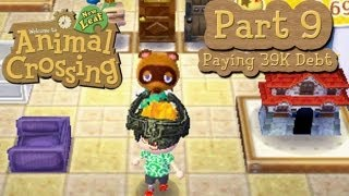 Animal Crossing: New Leaf - Part 9: Paying Off 39k Debt And Renovating Our House!