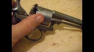 Antique BELGIAN 9mm PINFIRE REVOLVER
