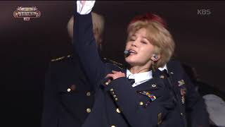 2017 KBS가요대축제 Music Festival - 방탄소년단 - Not Today (Not Today - BTS). 20171229