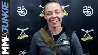 UFC Denver: Rose Namajunas full guest fighter interview