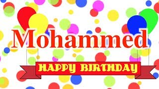 Happy Birthday Mohammed Song