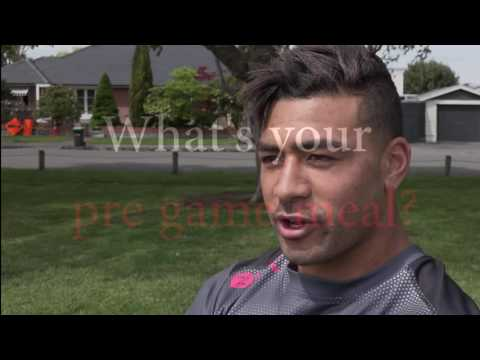 Say what? Richie Mo'unga's crazy pre game rituals