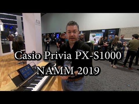 Casio Privia PX S1000 & 3000 with Richard Formidoni - NAMM 2019