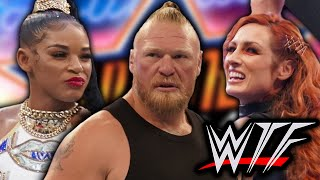 WWE SummerSlam 2021 WTF Moments Brock Lesnar Becky Lynch Return John Cena Vs Roman Reigns