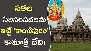 సకల సిరిసంపదలను ఇచ్చే కాంచీపురం కామాక్షి దేవి! || History Of Kanchi Kamakshi Temple !