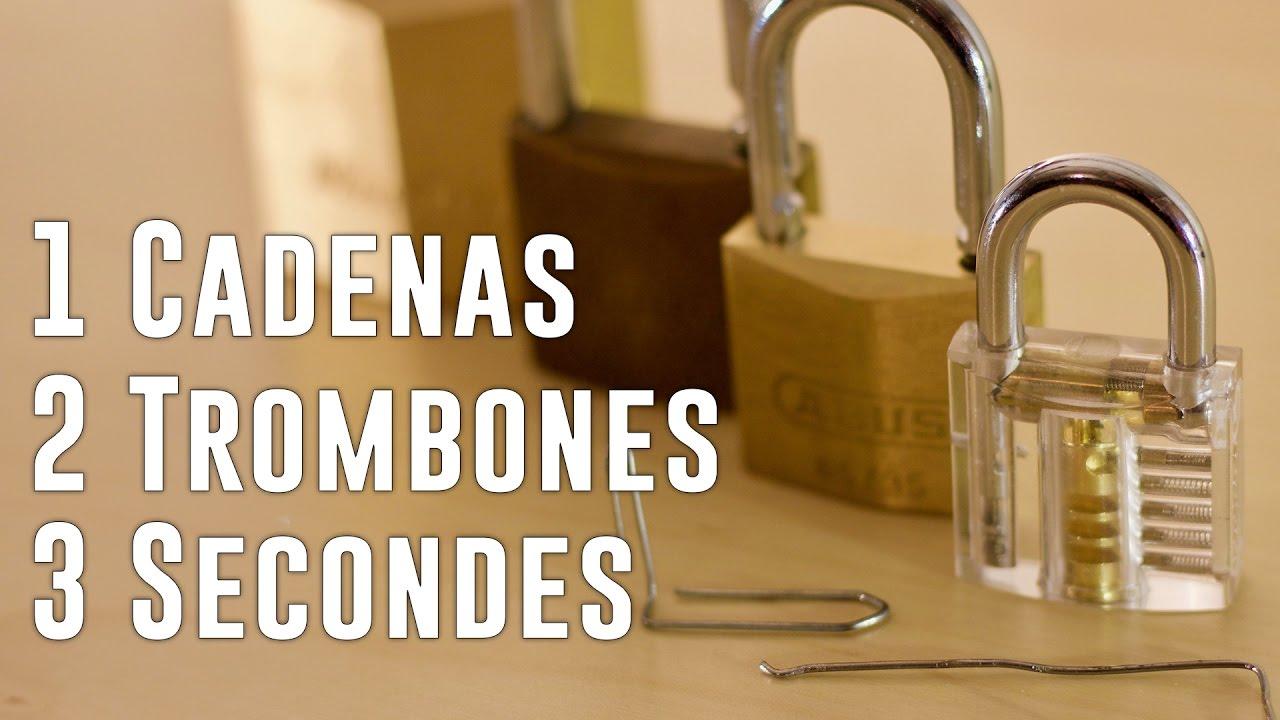 Download Comment crocheter un cadenas en 3 sec avec un trombone | Tuto