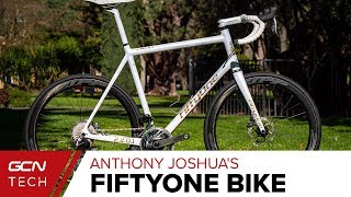 Anthony Joshua's Custom FiftyOne Handmade Carbon Bike