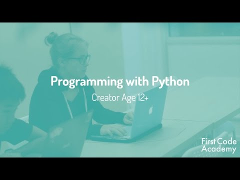 Creator Core Program Course: Programming with Python