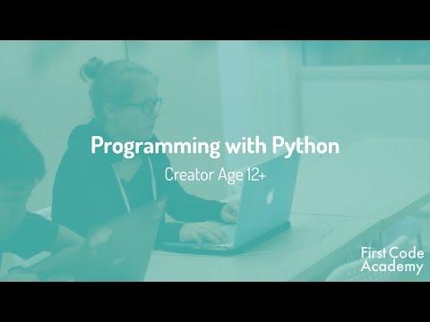 Creator Core Program Course: Programming with Python