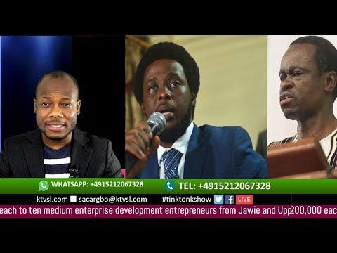 Prof.  Lumumba's visit  to Sierra Leone sparks Controversies