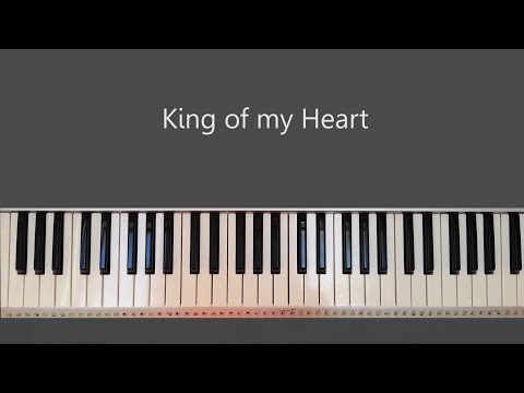 King of my Heart - Bethel Piano Tutorial and Chords