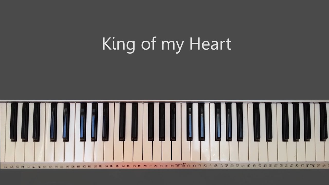King of my heart bethel piano tutorial and chords chords chordify hexwebz Image collections