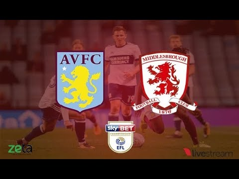 Aston Villa - Middlesbrough | Championship | Play Off | Semi-Finals | Live Streaming | Radio On Air
