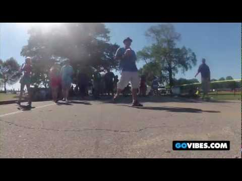 On The Road Again: A Golf Cart Journey Throughout Gathering of the Vibes 2012