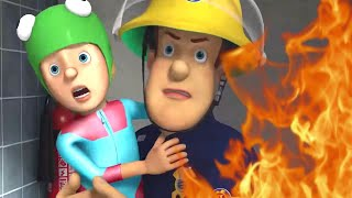 Fireman Sam New Episodes 🔥Fire At The Pool! 🚒 Fireman Sam Collection 🚒 🔥 Kids Movies