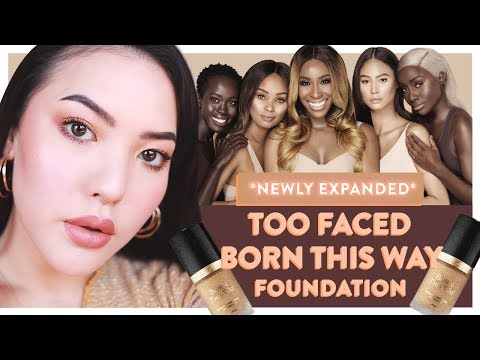*NEWLY EXPANDED* Too Faced Born This Way Foundation | GBT | soothingsista