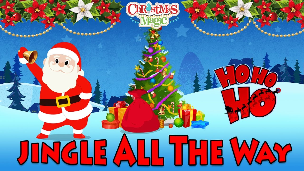 Jingle Bells   Christmas Songs For Kids   Nursery Rhymes for Children   Jingle all the way - YouTube