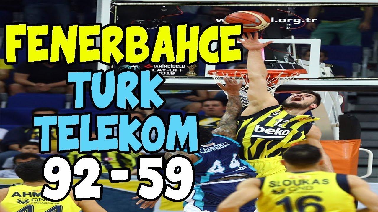 FENERBAHÇE - TÜRK TELEKOM (GENİŞ ÖZET) 29.05.2019
