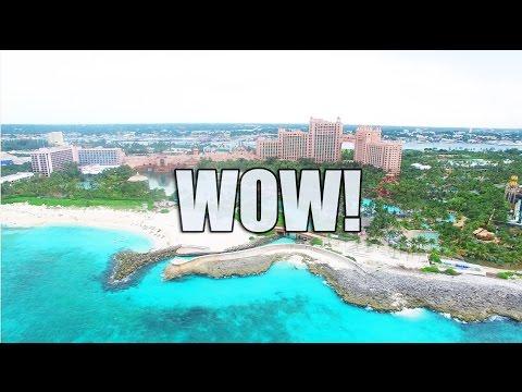 Bahamas Atlantis Resort DRONE HD - DJI Phantom 3 Drone