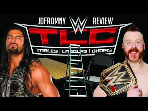 WWE TLC: Tables Ladders & Chairs 2015 12/13/15 Review & Results