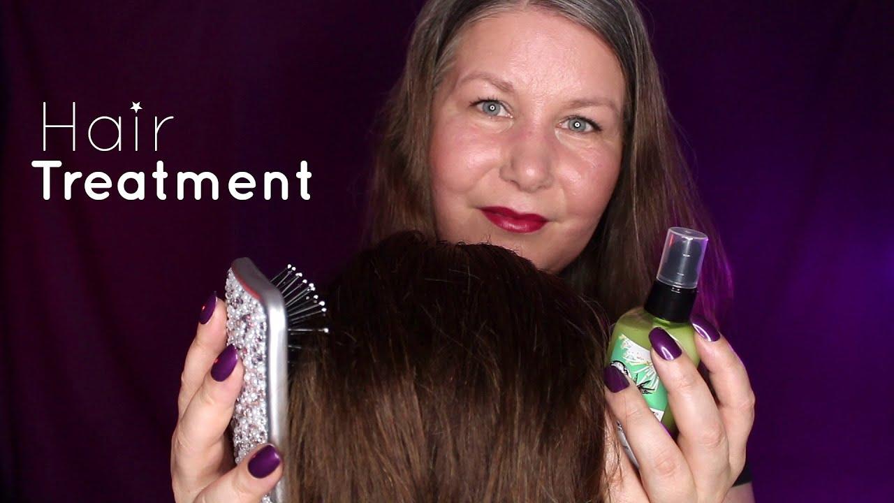 ASMR︱Haarprogramm︱Massage, Öl, Bürsten, Sprühen, Pflege︱Deutsch/German