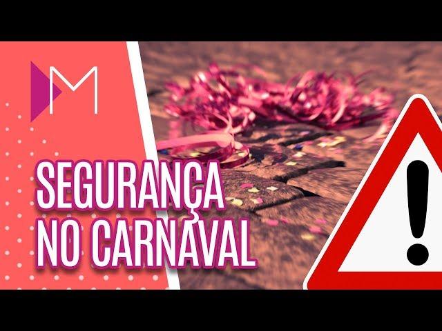 Segurança no carnaval + Ônibus Lilás - Mulheres (28/02/2019)