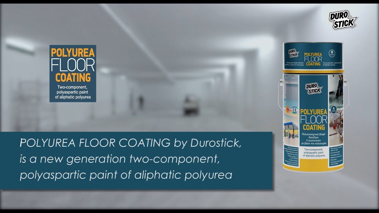 Wall painting with the polyurethane system POLYUREA FLOOR COATING by DUROSTICK