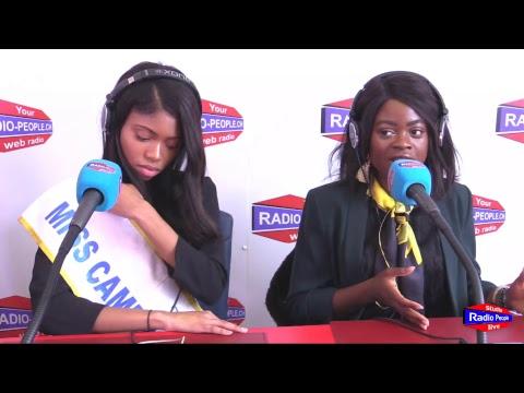 Miss Cameroun-Suisse 2017 - interview de Stéphanie - Sonia - Aliya et Manuela - 18.11.2017