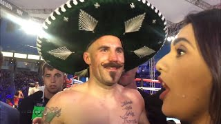 SPIKE O'SULLIVAN WANTS CANELO ON MEXICAN INDEPENDENCE DAY; ANALYZES TKO VICTORY