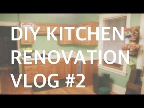 DIY KITCHEN RENOVATION// VLOG #2