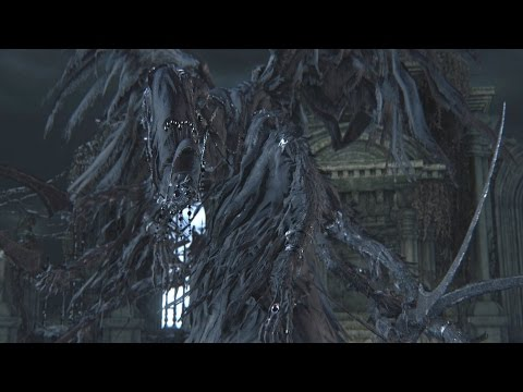 Bloodborne: Mergo's Wet Nurse Boss Fight (1080p)