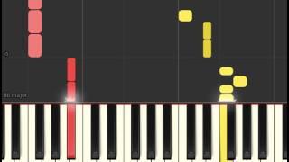 Piano tutorial: Kygo - ID (FIFA 16 and UMF Soundtrack) (Synthesia)
