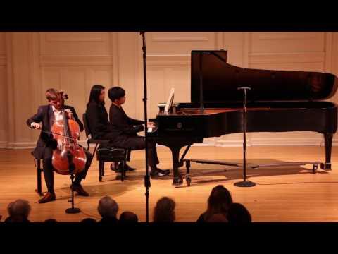 3/3 Brahms Cello Sonata no. 1 E minor: Andrei Ionita (cello), Yekwon Sunwoo (piano)