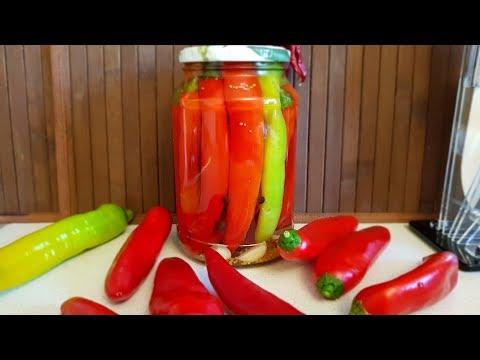 Как можно замариновать горький перец на зиму