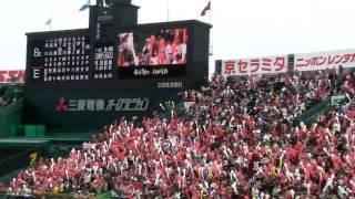 東北楽天ゴールデンイーグルス・ラッキー7@甲子園球場(2011/04/17)