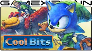Cool Bits - Sonic Lost World: Zelda Zone's Lake Hylia Secrets