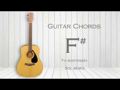 How To Play F Sharp Guitar Chord G Flat F Gb Youtube