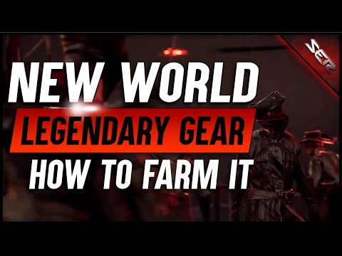 Best Ways To Farm Legendary Weapons in Amazon's 🎒NEW WORLD MMO (2020 Preview Event, Max Gear Guide)