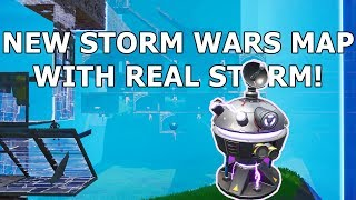 Fortnite a ajouté REAL Storms à Creative: NEW Zone Wars Map (carte de pratique du 7e cercle)